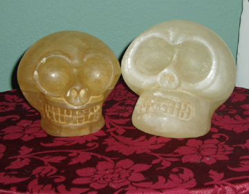 Dropa Skulls Azka and Zaka